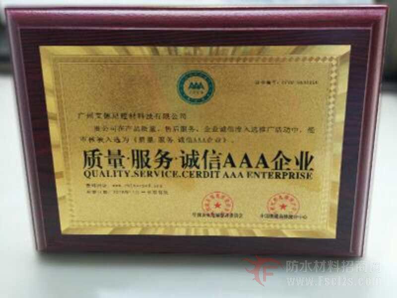 艾思尼荣誉证书