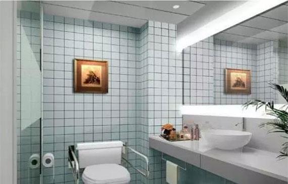 专业防水 一招搞定浴室防潮防霉问题!