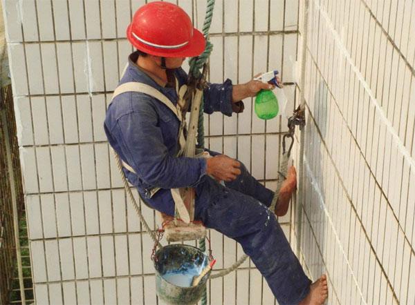 聚王牌解析外墙透明防水涂料怎么做施工?
