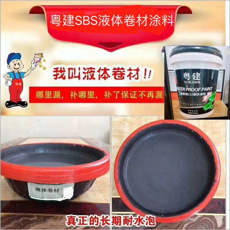 2018年中国防水品牌-SBS液体卷材防水涂料供应商