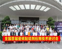 【维施克动态】全国首届瓷砖粘结剂应用技术研讨会