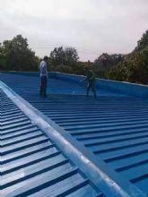 高弹丙烯酸金属屋面专用 施工效果展示