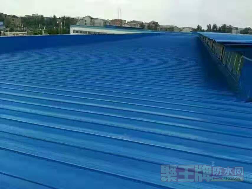 施威克防水品牌店面形象彩钢结构材料
