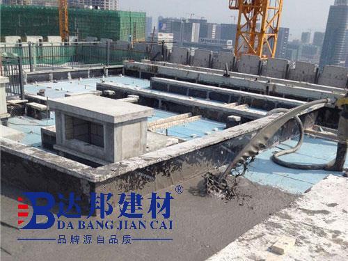 楼顶做保温隔热达邦回填宝与挤塑板保温对比