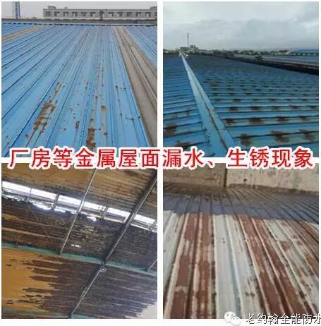 宝金属屋面专用防水涂料具有防水 防腐 隔热功能