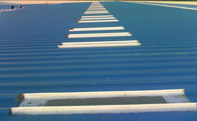 金属彩钢板防水堵漏方法