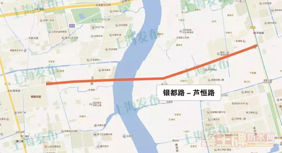 隧道防水|上海又一条越江隧道获批!未来过江将更方便!