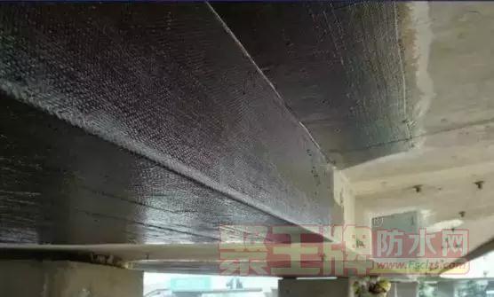 板端缝防水处理