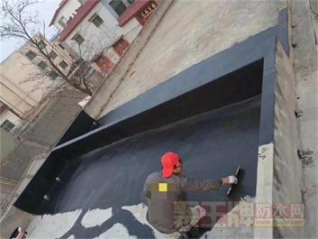 粤高弹性SBS解决楼顶漏水,开盖即涂,无接缝防水层