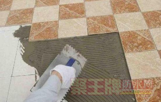 瓷砖铺贴技术:瓷砖铺贴薄贴法工艺介绍