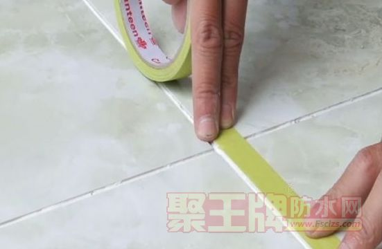 新房装修瓷砖美缝剂施工操作使用过程