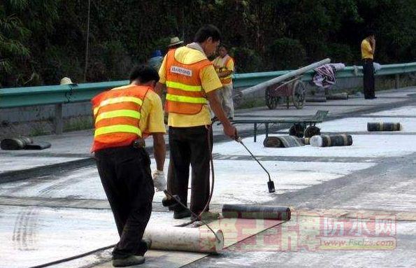 高分子自粘防水卷材施工时应该注意哪些消防工作