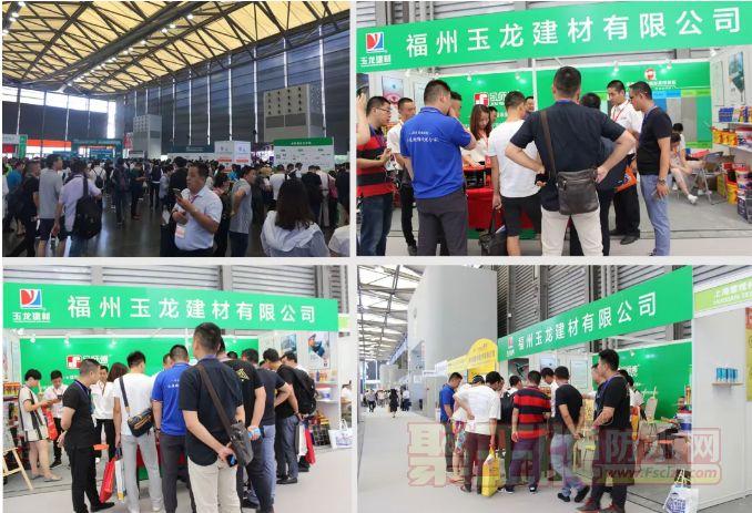 上海建博会圆满落幕,玉龙建材人气超高凯旋告捷!