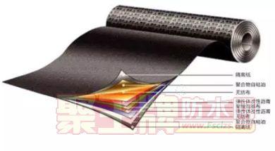 华宇防水湿铺法交叉层压聚乙烯膜自粘防水卷材