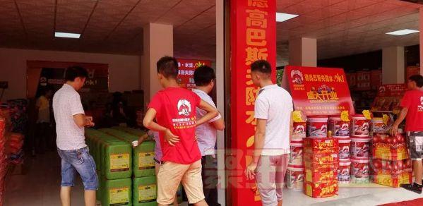 恭贺德高巴斯夫与金意涂湖南衡阳总代理盛大开业!