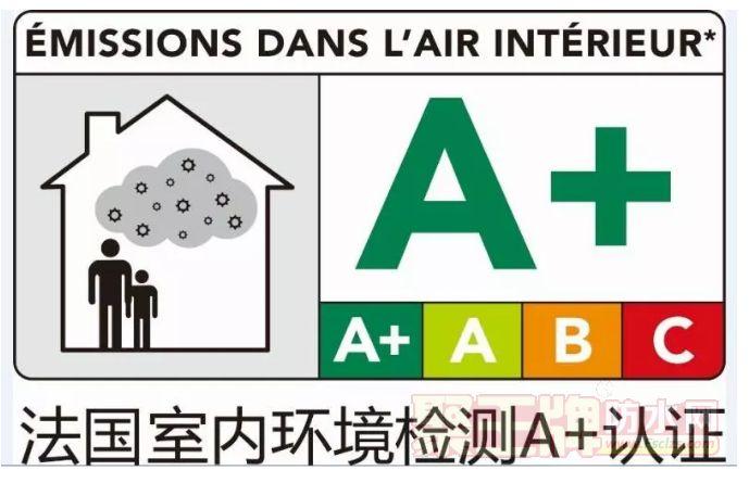 点击查看大宝漆6款墙面漆产品通过法国A+认证详细说明