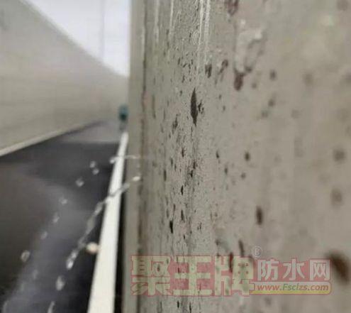 防水报道:安徽一市新建隧道刚通车10余天,20余处裂缝漏水…….png