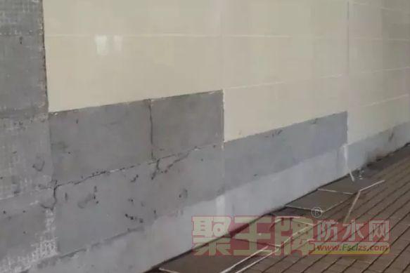 用名牌的防水涂料但用水泥砂浆贴砖,可行吗?