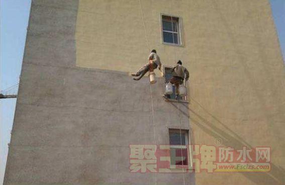 外墙油性涂料施工方法