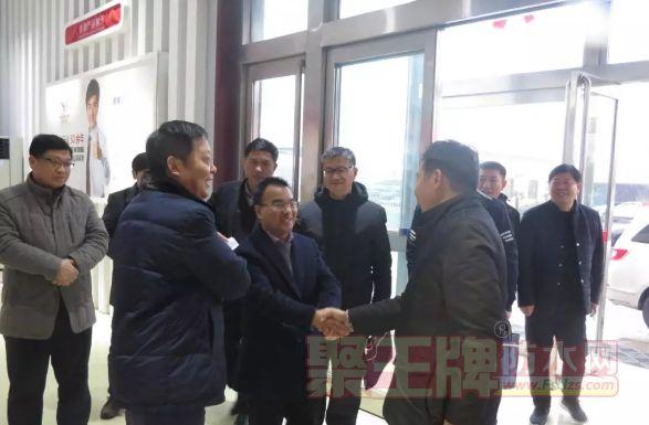 许昌市政协副主席一行莅临金拇指厂区视察调研!