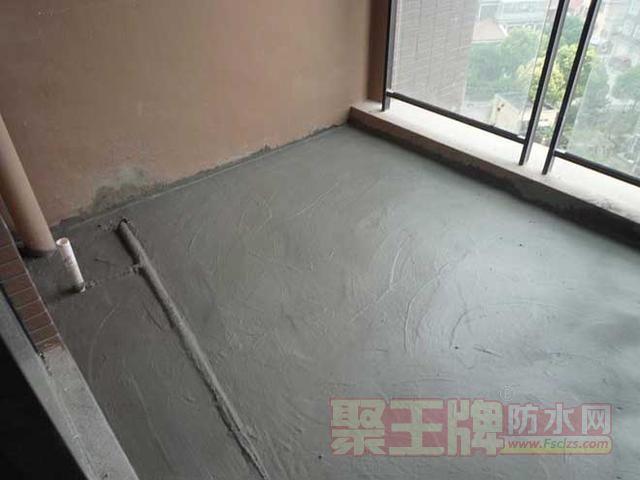 JS(聚合物水泥基)防水涂料施工误区