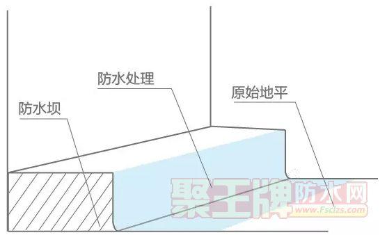浇筑防水坝,防水坝防水处理