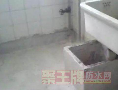 卫生间防水规范四:保持下水管道通畅。