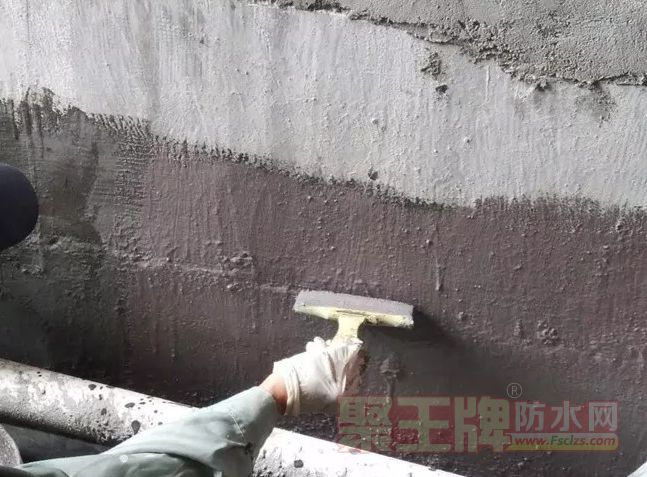 墙面基层处理 - 防水堵漏测试