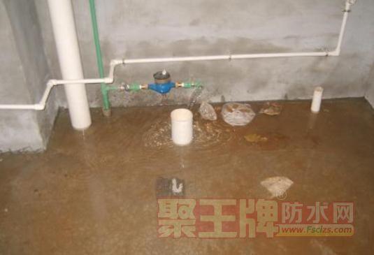 防水工程质量验收和铺设保护层