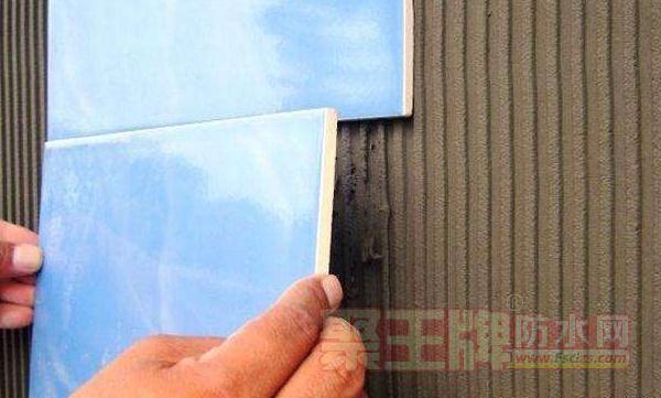 防水施工以后瓷砖贴不牢怎么办