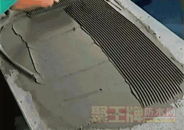 瓷砖胶施工方法
