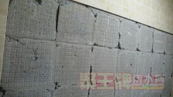 瓷砖胶产品选择不当,会严重导致掉砖。