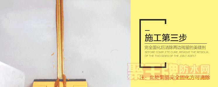 美缝剂  第二次升级成了单组份水性环氧树脂的填缝剂,就是所谓的美缝剂