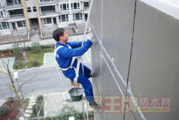 外墙透明防水胶(OT801)施工