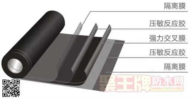 丽天防水卷材品牌自粘防水卷材双面粘