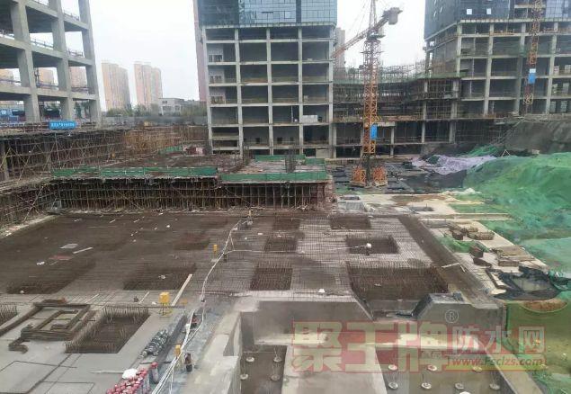 【防水工程】金拇指驻马店蓝天世贸中心项目