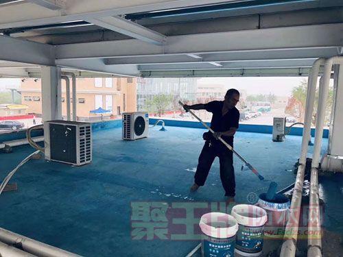 屋面防水施工效果图
