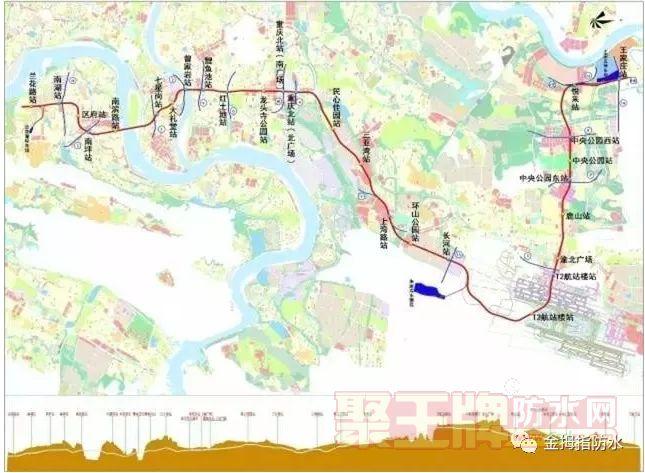 金拇指防水工程:郑州轨道交通10号线