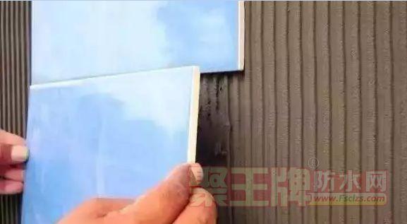 防水堵漏王能直接代替  瓷砖胶粘砖吗?