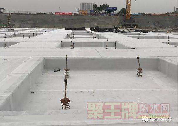 锦艺集团防水项目HDPE施工效果图