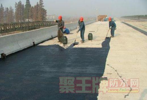 做桥面防水,用聚虹FTY-1改进型桥面防水涂料