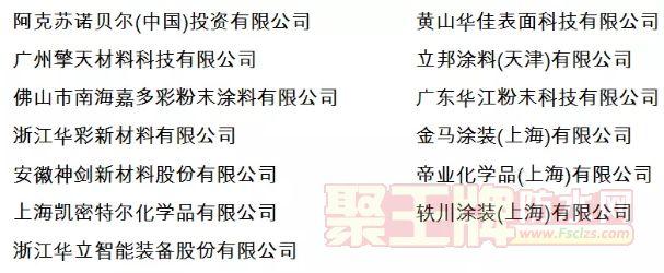 2019 中国粉末涂装发展高峰论坛日程安排
