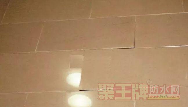 瓷砖铺贴后期出现空鼓现象