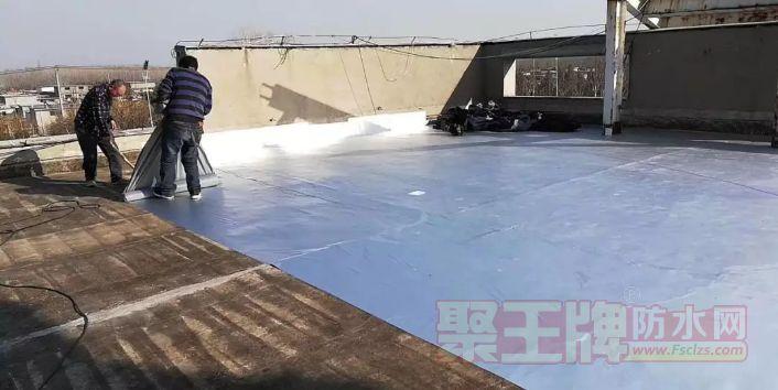 金帅牌丁基防水胶带用于屋面防水施工↑