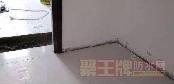 卫生间墙角渗水、墙皮脱落 ,是什么原因?