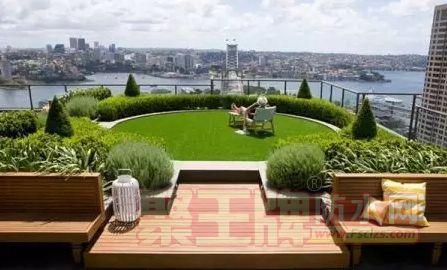 屋顶花园设计与防水施工 屋顶花园的防水技术做法
