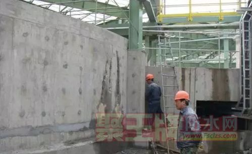 水泥基渗透结晶防水材料对裂缝修复的应用