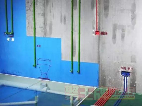 房屋装修要知:防水材料施工的细节部位