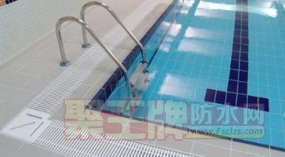 华珀免砸砖防水材料厂家:游泳池不砸砖如何做防水?