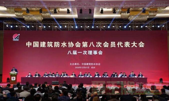 实力见证 |中国防水年度盛会,彩虹建材再获殊荣!